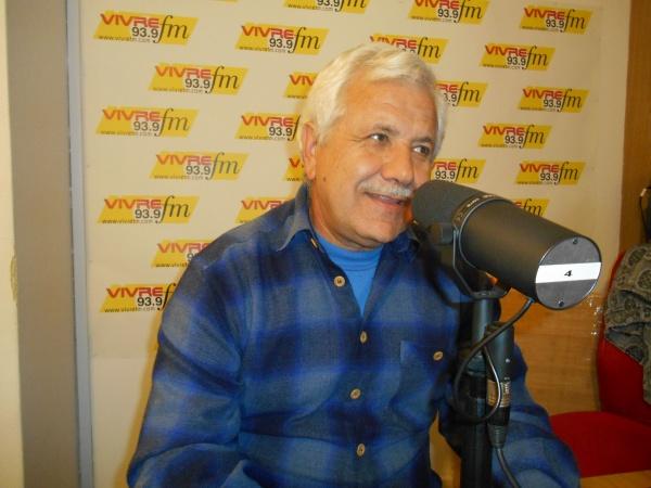 Joaquin Romero à Vivre FM