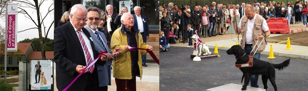 Inauguration du centre d élevage