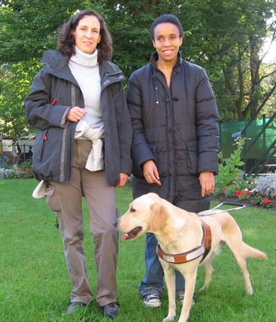 Patricia, Khadija et Belem