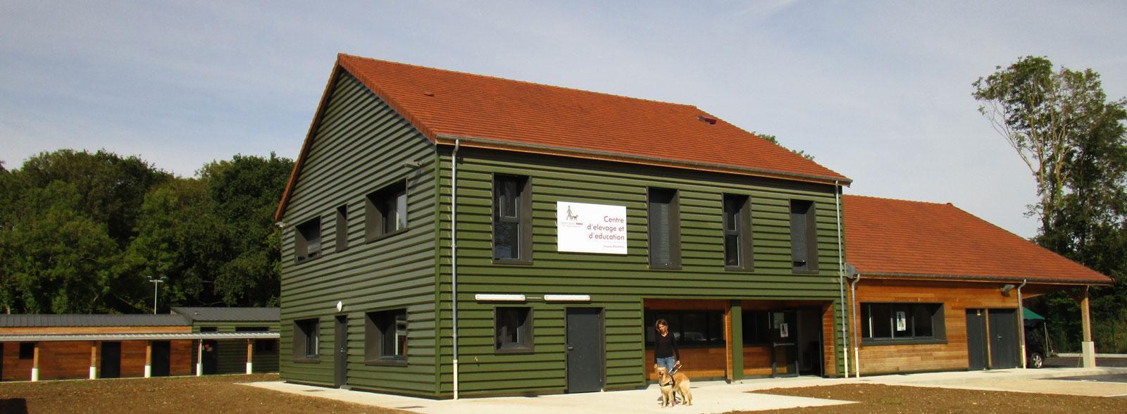 Centre d élevage et d éducation juste avant l inauguration