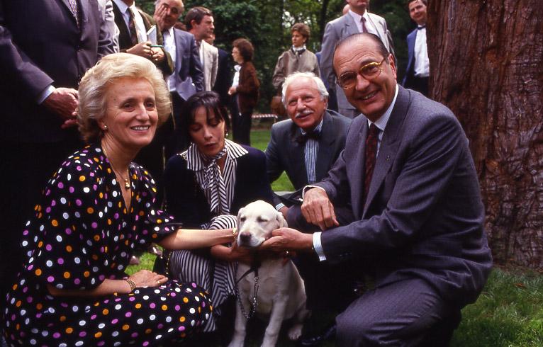 Mr et Mme Chirac, Marie Laforêt et le Docteur Michel Klein