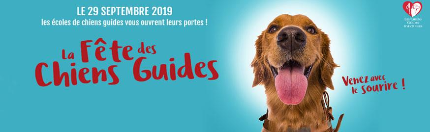 La fête des chiens guides, journée portes ouvertes le dimanche 29 septembre