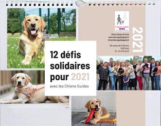 couverture du calendrier 2021 Visuel bientôt disponible