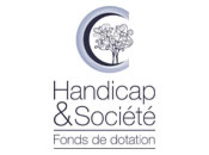 Logo Handicap et Société fonds de dotation